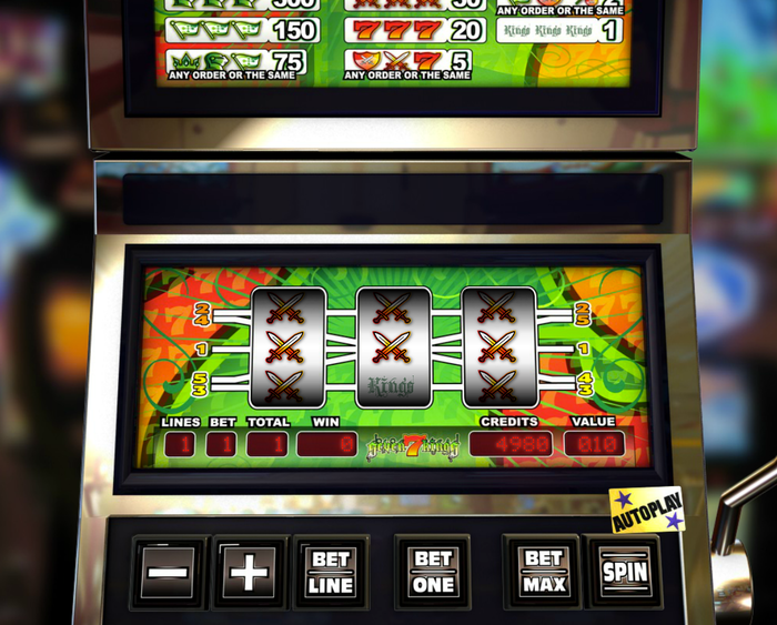 7 Kings Slotmachine