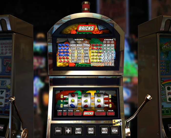 Bricks slotmachine